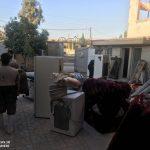 خدمت رسانی گروه جهادی سپاه سرخس در روستای زلزله زده زراعی سرپل ذهاب (۲۷)