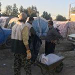 خدمت رسانی گروه جهادی سپاه سرخس در روستای زلزله زده زراعی سرپل ذهاب (۲۸)