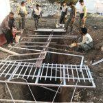 خدمت رسانی گروه جهادی سپاه سرخس در روستای زلزله زده زراعی سرپل ذهاب (۲۹)