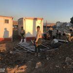 خدمت رسانی گروه جهادی سپاه سرخس در روستای زلزله زده زراعی سرپل ذهاب (۳۰)
