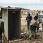 خدمت رسانی گروه جهادی سپاه سرخس در روستای زلزله زده زراعی سرپل ذهاب (۳۲)