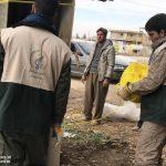 خدمت رسانی گروه جهادی سپاه سرخس در روستای زلزله زده زراعی سرپل ذهاب (۳۳)