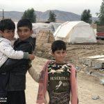 خدمت رسانی گروه جهادی سپاه سرخس در روستای زلزله زده زراعی سرپل ذهاب (۳۷)