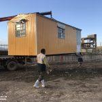 خدمت رسانی گروه جهادی سپاه سرخس در روستای زلزله زده زراعی سرپل ذهاب (۴)