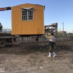 خدمت رسانی گروه جهادی سپاه سرخس در روستای زلزله زده زراعی سرپل ذهاب (۵)