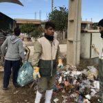 خدمت رسانی گروه جهادی سپاه سرخس در روستای زلزله زده زراعی سرپل ذهاب (۹)