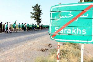 ۷ هزار زائر پیاده سرخسی در مسیر مشهد القلوب مشق عاشقی میکنند