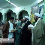 مراسم عمامه گذاری طلاب مدرسه علمیه سرخس (۱۱)