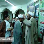 مراسم عمامه گذاری طلاب مدرسه علمیه سرخس (۱۲)