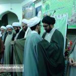 مراسم عمامه گذاری طلاب مدرسه علمیه سرخس (۱۳)
