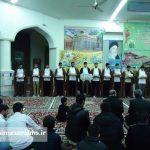 مراسم عمامه گذاری طلاب مدرسه علمیه سرخس (۲)