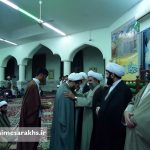 مراسم عمامه گذاری طلاب مدرسه علمیه سرخس (۶)