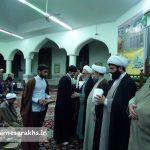 مراسم عمامه گذاری طلاب مدرسه علمیه سرخس (۷)