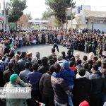 راهپیمایی یوم الله ۲۲بهمن در شهرستان سرخس (۱)