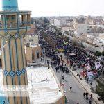 راهپیمایی یوم الله ۲۲بهمن در شهرستان سرخس (۱۳)