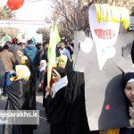 راهپیمایی یوم الله ۲۲بهمن در شهرستان سرخس (۴)