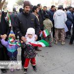 راهپیمایی یوم الله ۲۲بهمن در شهرستان سرخس (۸)