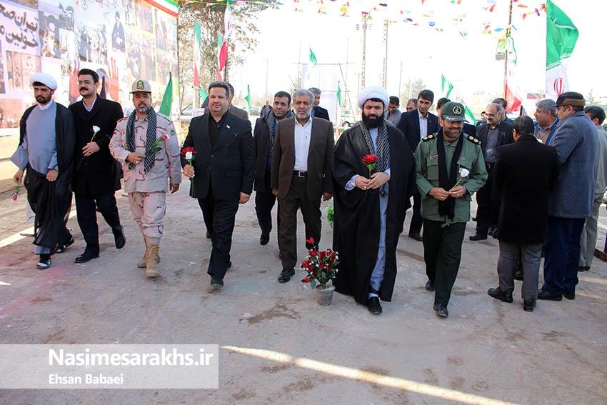 گرامیداشت اولین روز از دهه مبارک فجر در سرخس
