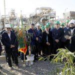 افتتاح فاز دوم «طرح بازیابی گازهای ارسالی به مشعل» در منطقه عملیاتی خانگیران سرخس