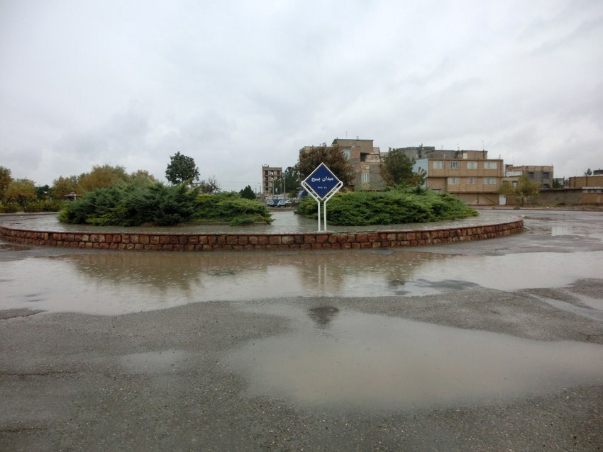 سرخس، ونیز شد/ بارش باران و داستان تکراری آبهای سطحی + فیلم