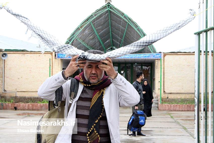 کربلای ایران میزبان ۱۸۰ زائر سرخسی میشود+ تصاویر