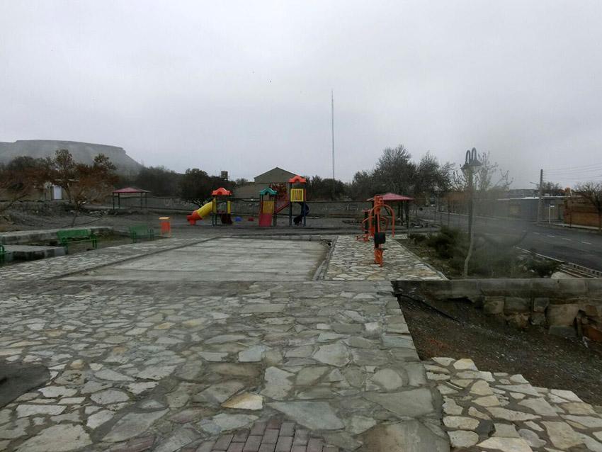 پارک مزین به شهدای گمنام شهر مزداوند تکمیل میشود