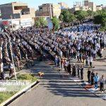 تصاویر اقامه نماز عید فطر در سرخس (۱۰)