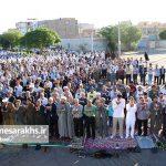 تصاویر اقامه نماز عید فطر در سرخس (۲)