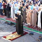 تصاویر اقامه نماز عید فطر در سرخس (۳)