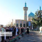 تصاویر اقامه نماز عید فطر در سرخس (۵)