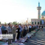 تصاویر اقامه نماز عید فطر در سرخس (۶)