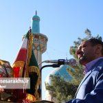 تصاویر اقامه نماز عید فطر در سرخس (۷)