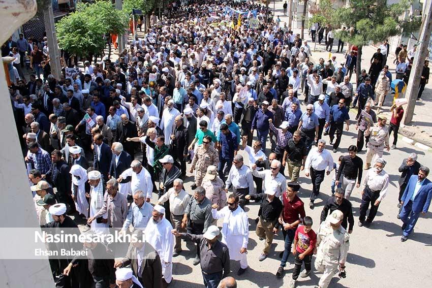 راهپیمایی روز جهانی قدس در کیان مرزنشینان غیور