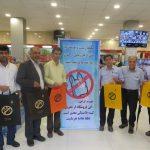 حذف پلاستیک در مجتمع مسکونی گاز شهید مهاجر سرخس