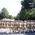 مراسم رژه نیروهای مسلح شهرستان سرخس-بخش دوم- شهریور ۹۷ (۱)