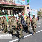 مراسم رژه نیروهای مسلح شهرستان سرخس-بخش دوم- شهریور ۹۷ (۱۰)
