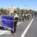 مراسم رژه نیروهای مسلح شهرستان سرخس-بخش دوم- شهریور ۹۷ (۱۳)