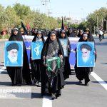 مراسم رژه نیروهای مسلح شهرستان سرخس-بخش دوم- شهریور ۹۷ (۱۴)