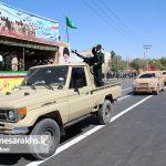 مراسم رژه نیروهای مسلح شهرستان سرخس-بخش دوم- شهریور ۹۷ (۱۶)