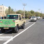 مراسم رژه نیروهای مسلح شهرستان سرخس-بخش دوم- شهریور ۹۷ (۱۷)