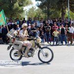 مراسم رژه نیروهای مسلح شهرستان سرخس-بخش دوم- شهریور ۹۷ (۱۸)