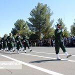 مراسم رژه نیروهای مسلح شهرستان سرخس-بخش دوم- شهریور ۹۷ (۲)
