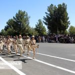 مراسم رژه نیروهای مسلح شهرستان سرخس-بخش دوم- شهریور ۹۷ (۴)