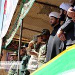 مراسم رژه نیروهای مسلح شهرستان سرخس-بخش دوم- شهریور ۹۷ (۷)