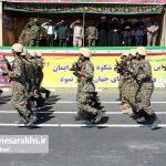 مراسم رژه نیروهای مسلح شهرستان سرخس-بخش دوم- شهریور ۹۷ (۹)