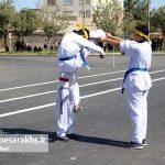 مراسم رژه نیروهای مسلح شهرستان سرخس- شهریور ۹۷ (۱۰)