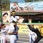 مراسم رژه نیروهای مسلح شهرستان سرخس- شهریور ۹۷ (۱۱)