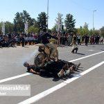 مراسم رژه نیروهای مسلح شهرستان سرخس- شهریور ۹۷ (۱۲)