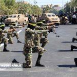 مراسم رژه نیروهای مسلح شهرستان سرخس- شهریور ۹۷ (۱۳)