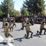 مراسم رژه نیروهای مسلح شهرستان سرخس- شهریور ۹۷ (۱۴)